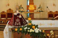 Wprowadzenie Figurki Dzieciątka Jezus do kościoła parafialnego